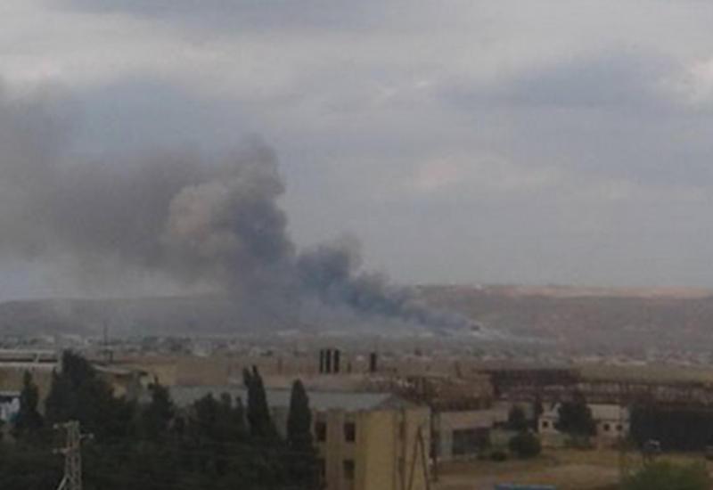 """Сильный взрыв на заводе в Азербайджане: есть погибшие и раненые <span class=""""color_red"""">- ОБНОВЛЕНО - ФОТО - ВИДЕО</span>"""