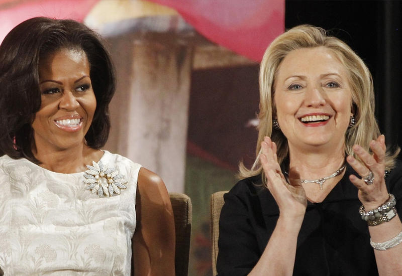 Мишель Обама поддержала Клинтон