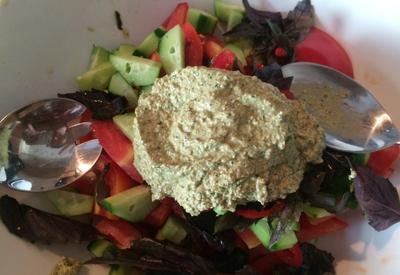 """Грузинский салат с ореховой заправкой <span class=""""color_red"""">- ФОТО</span>"""