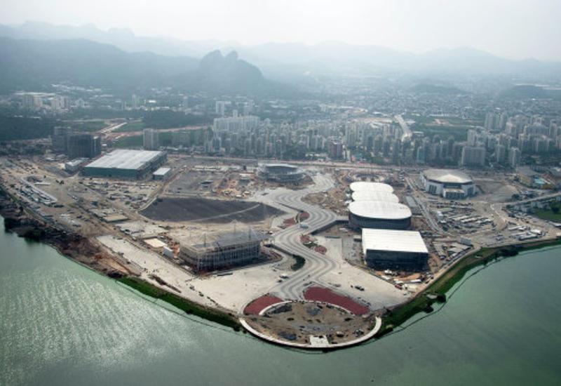 Два истребителя столкнулись над побережьем Рио-де-Жанейро
