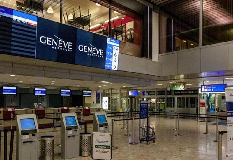 Анонимный звонок вызвал ажиотаж в аэропорту Женевы