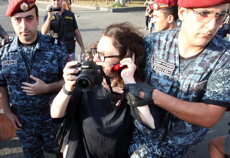 Дикость армянской полиции спровоцировала скандал в Канаде