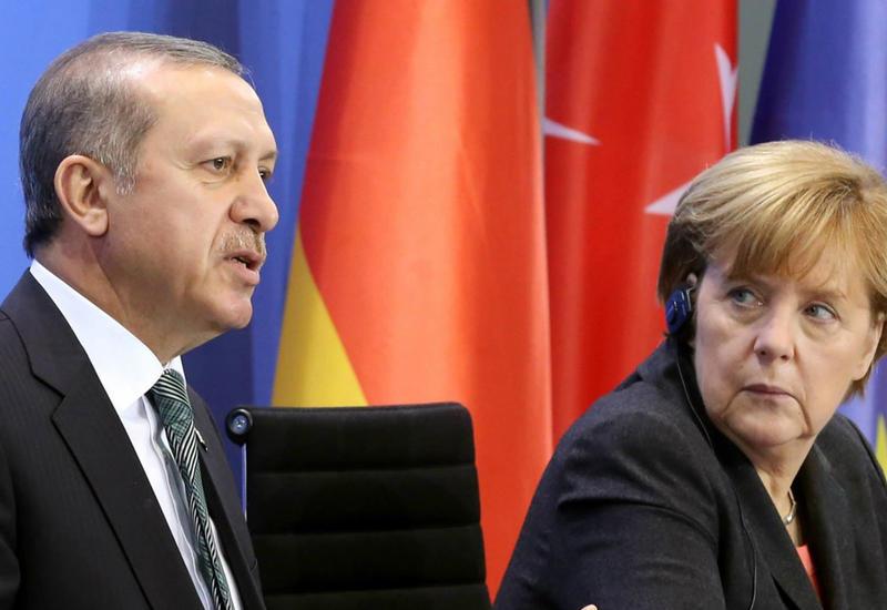 Меркель встретится с Эрдоганом