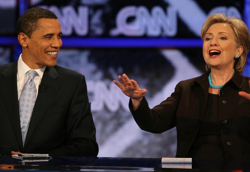 Обама считает Клинтон лучшим президентом, чем он сам