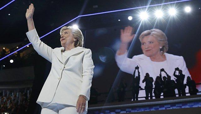 Насъезде Демократической партии США кандидатуры Клинтон иСандерса выдвинуты наголосование