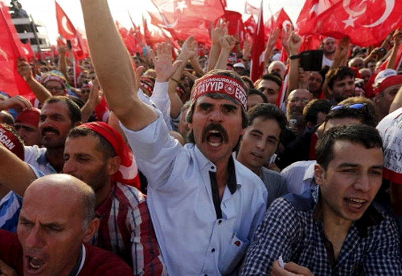 Антиамериканский митинг в Турции