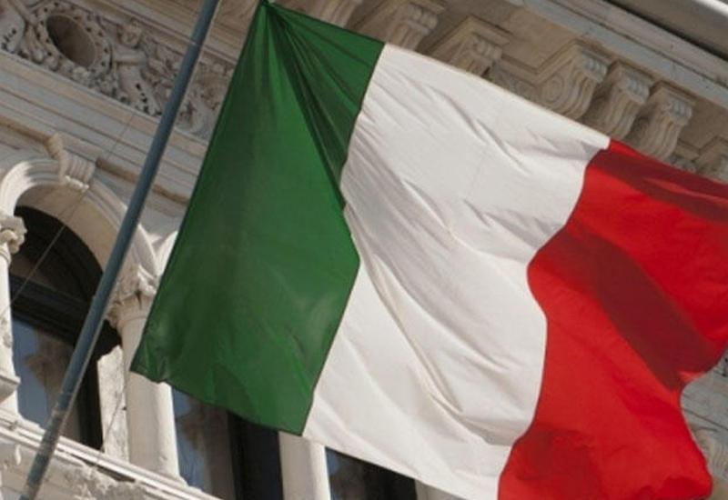 Итальянское посольство в Баку приспустило госфлаг