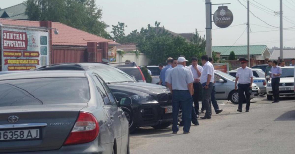 Впригороде столицы Кыргызстана взорвалась машина сотрудника Генпрокуратуры республики