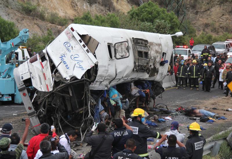 Крупные ДТП в Мексике: пострадали десятки человек