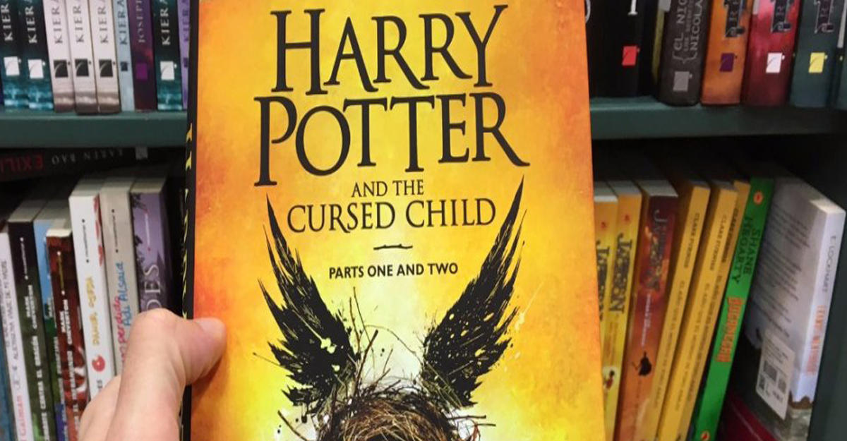 Книгу о гарри поттере задержали за терроризм
