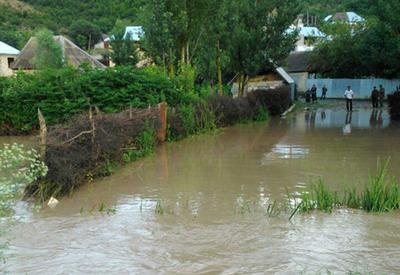 Сильный ливень затопил Боржоми