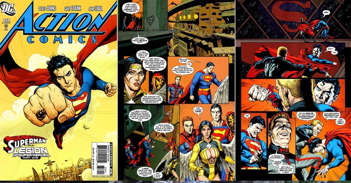 Первый выпуск комикса оСупермене продан нааукционе започти $1 млн