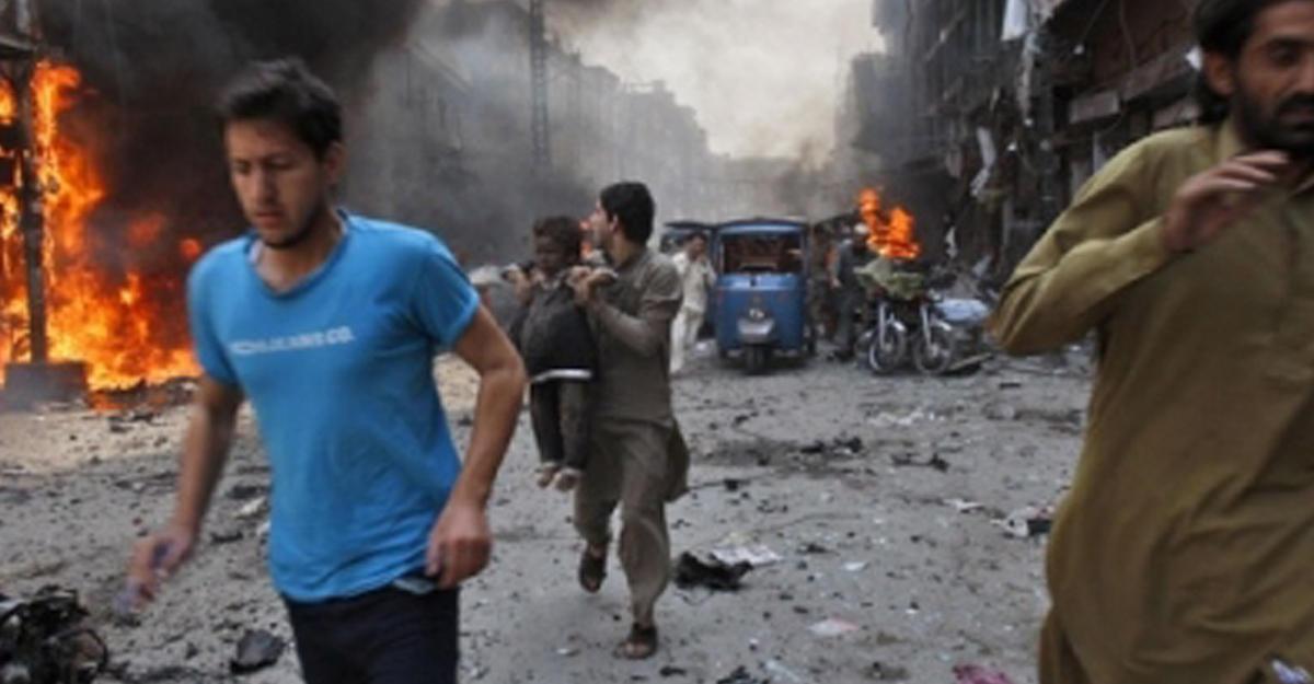 Взрыв вПакистане забрал десятки жизней