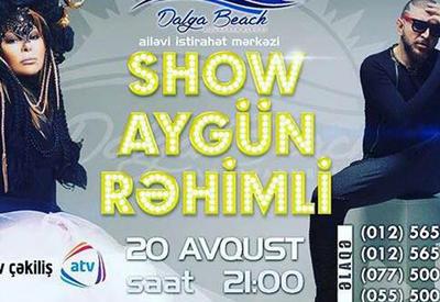 """Стал известен ведущий зажигательного вечера Şou Aygün Rəhimli <span class=""""color_red"""">- ВИДЕО</span>"""