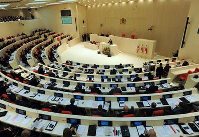 В парламенте Грузии рассмотрят вопрос о внеблоковом статусе страны