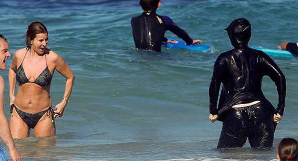 ВоФранции посоветовали запретить толстым мужчинам ходить вузких плавках