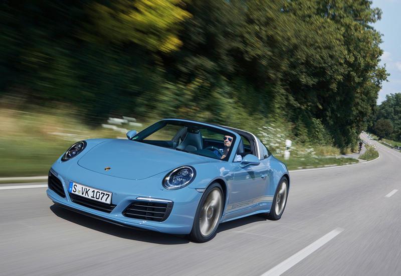 """В Porsche искусственно состарили модель 911 Targa <span class=""""color_red"""">- ФОТО</span>"""