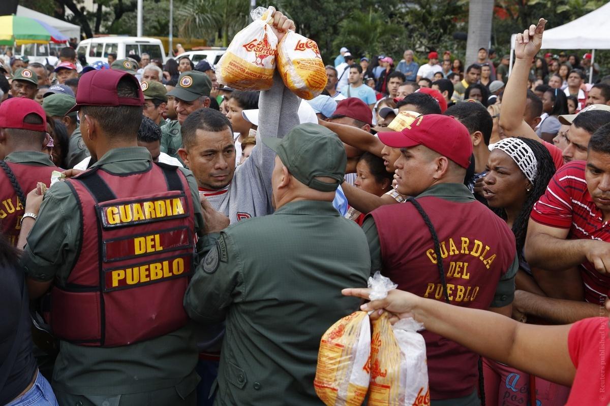 Венесуэла иКолумбия договорились частично открыть границу