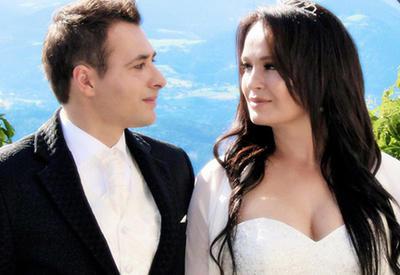 """Известная азербайджанская телеведущая вышла замуж в Австрии <span class=""""color_red"""">- ФОТО</span>"""