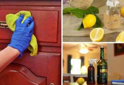 Как удалить пыль с мебели с помощью экологически чистых средств?