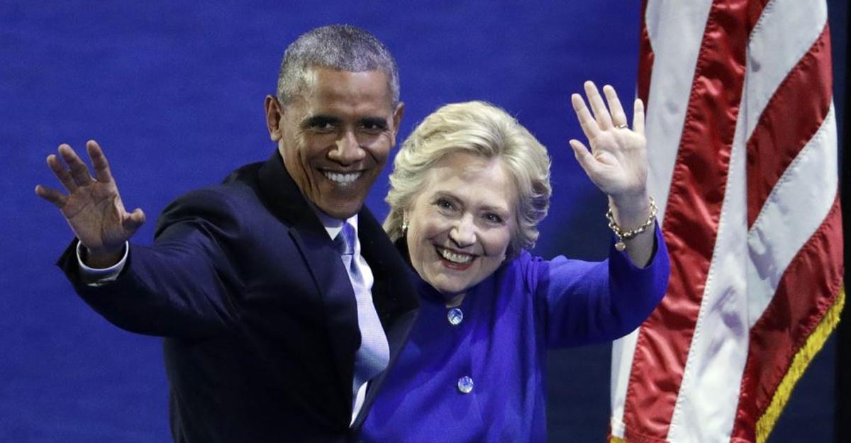 Обама прерывал отпуск, чтобы собрать деньги для Клинтон