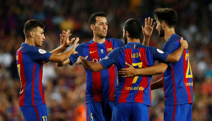 «Барселона» одолела «Севилью» ивовтором матче заСуперкубок Испании