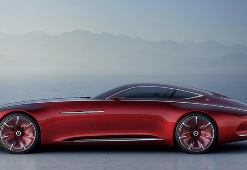 """Раскрыта внешность нового гигантского купе от Maybach <span class=""""color_red"""">- ФОТО</span>"""
