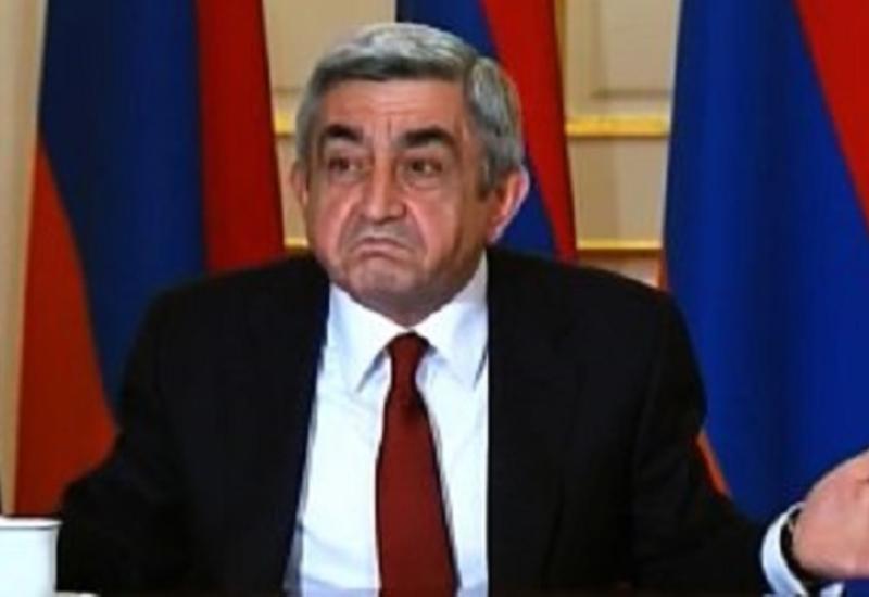 Саргсян зарыл собаку: ищет вся Армения