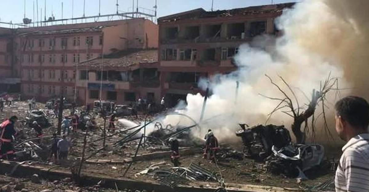 ВТурции в итоге теракта ранены поменьшей мере 120 человек
