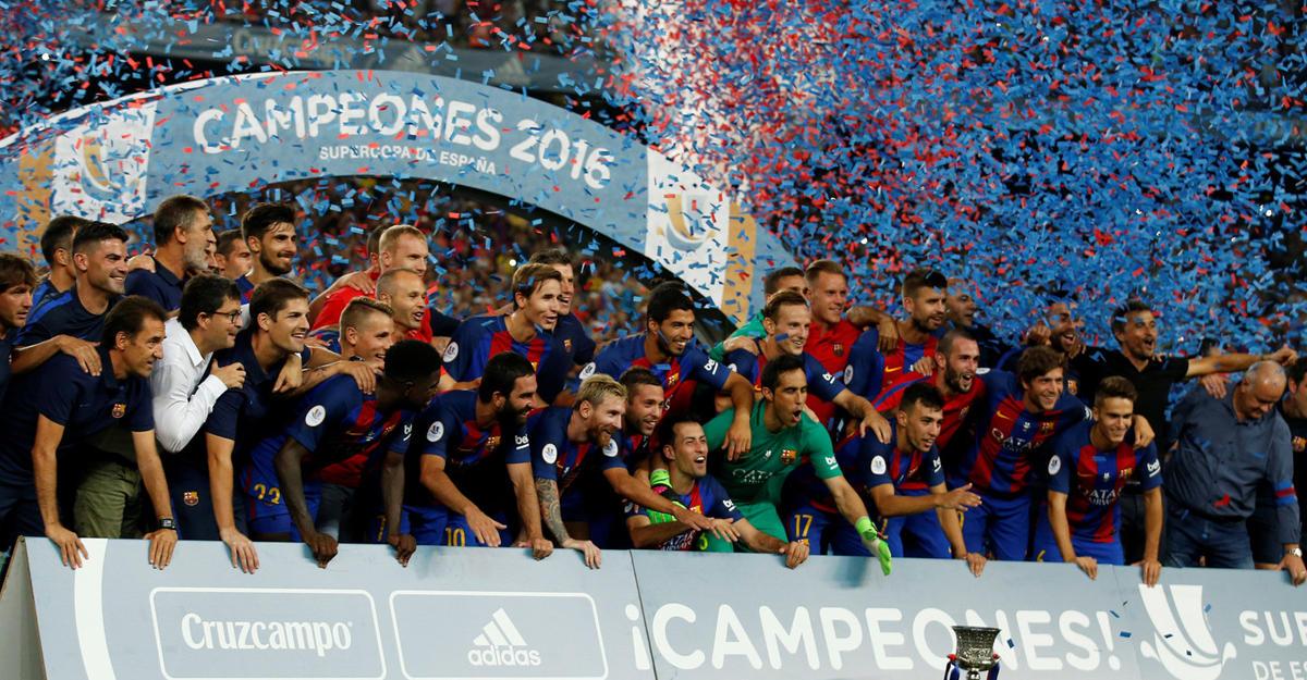 Суперкубок Испании. «Барселона»— «Севилья» 3:0. Время Турана