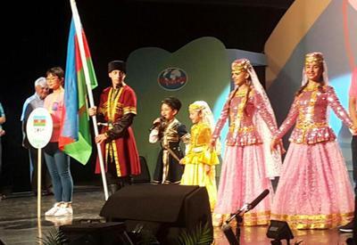 """Азербайджанская фольклорная группа - на международном фестивале <span class=""""color_red"""">- ФОТО</span>"""