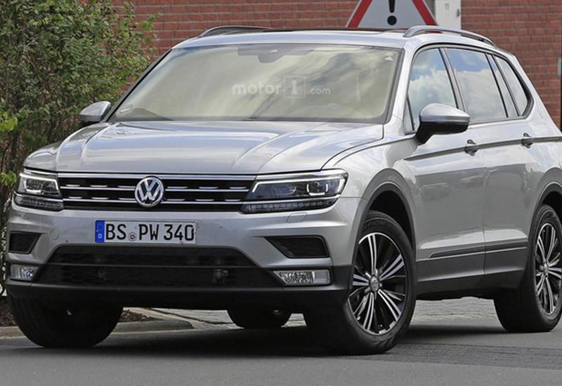 """Рассекречена внешность удлиненного VW Tiguan <span class=""""color_red"""">- ФОТО</span>"""