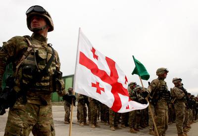 На военных учениях в Грузии пропали два спецназовца