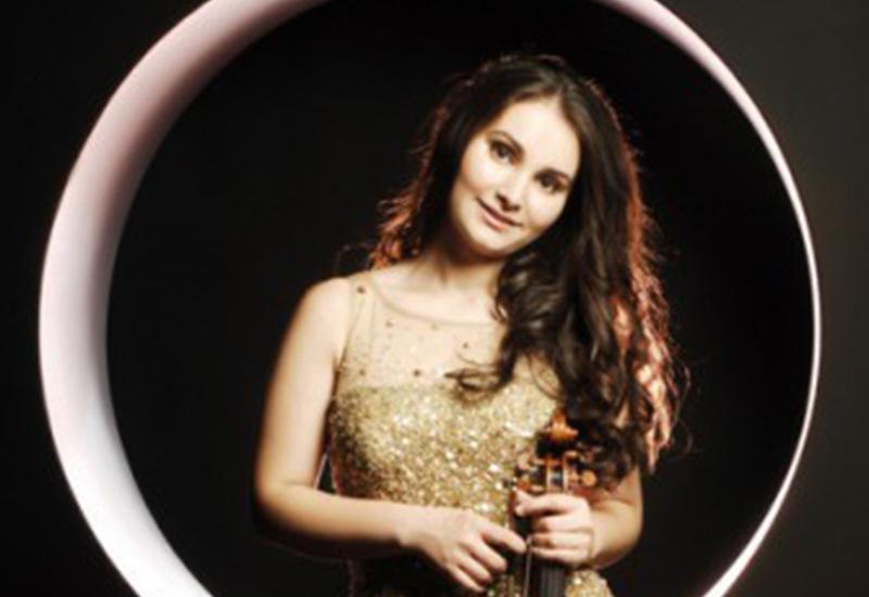 Азербайджанская скрипачка выступит в Лондоне