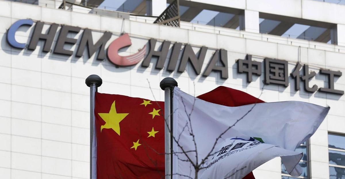 Акции Syngenta поднялись вцене на 12% нановостях осделке сChemChina