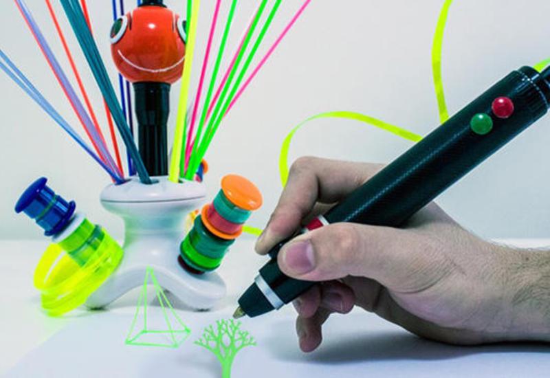 """Изобретена 3D-ручка, печатающая пластиковыми отходами <span class=""""color_red"""">- ФОТО</span>"""