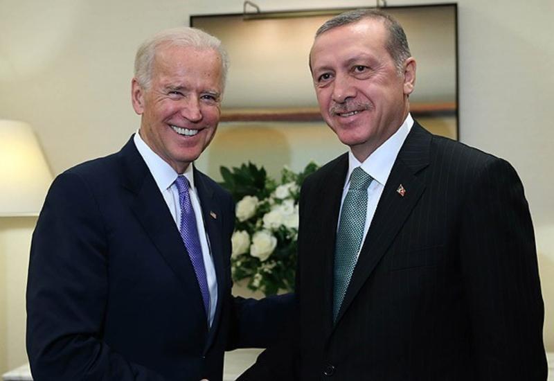 Вице-президент США на встрече с Эрдоганом
