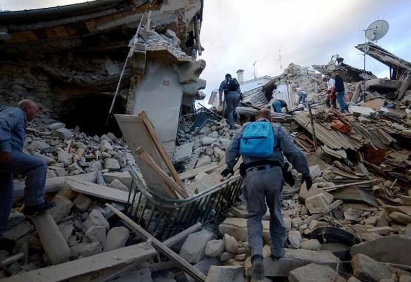 Выясняется наличие граждан Азербайджана среди жертв землетрясения в Италии