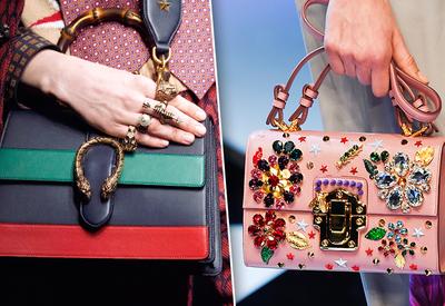 """Питон, принты и бахрома: 10 самых модных сумок осени <span class=""""color_red"""">- ФОТО</span>"""
