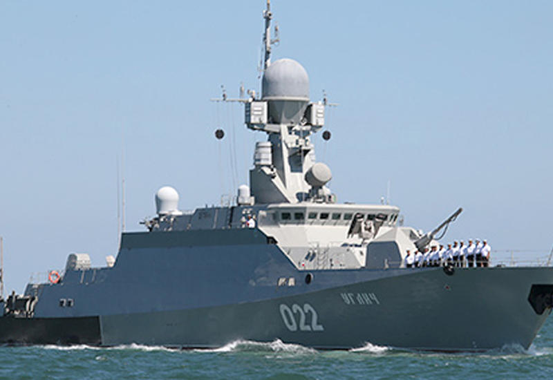 """Масштабные мероприятия российского флота на Каспии <span class=""""color_red"""">- ПОДРОБНОСТИ </span>"""