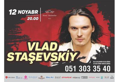 Влад Сташевский выступит в Баку с концертом