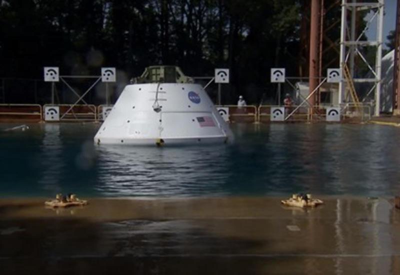 """NASA испытало марсианский корабль на воде <span class=""""color_red"""">- ВИДЕО</span>"""