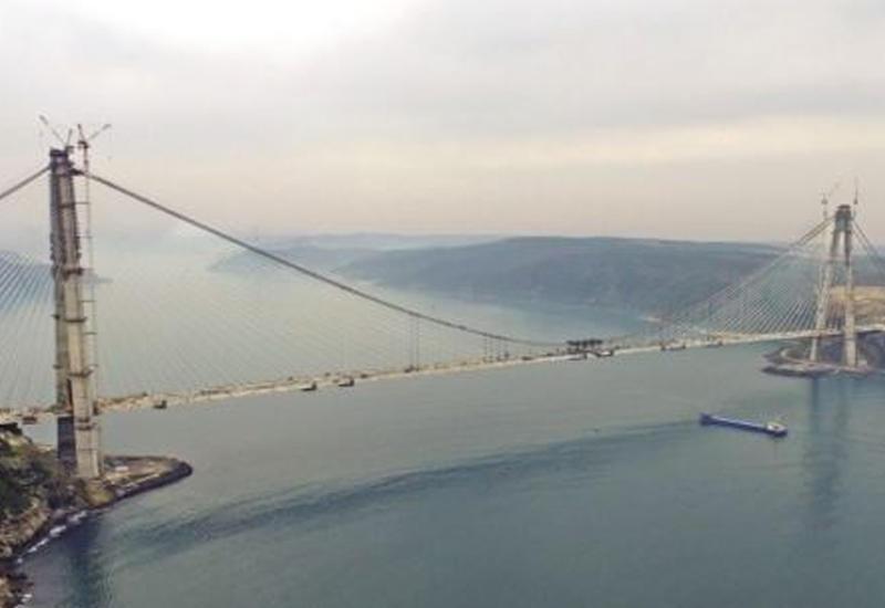 """В Турции открылся третий мост через Босфор <span class=""""color_red"""">- ФОТО</span>"""