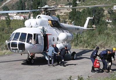 В Грузии спасли потерявшихся туристов