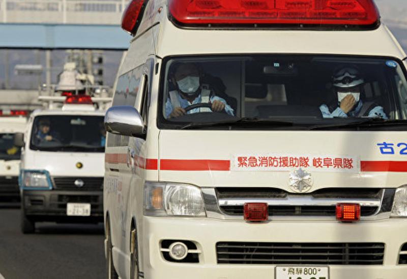 Тяжелое ДТП в Японии, пострадали школьники