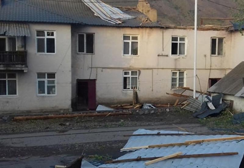 """Разрушительные последствия сильного ветра в Дашкесане <span class=""""color_red"""">- ФОТО</span>"""