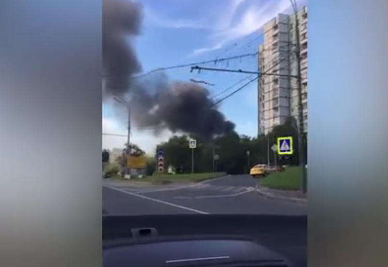"""Сильный пожар в Москве <span class=""""color_red"""">- ОБНОВЛЕНО - ВИДЕО</span>"""