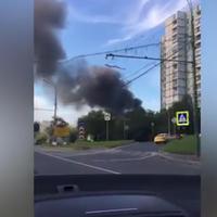 """Сильный пожар в Москве, есть погибшие и пострадавшие <span class=""""color_red"""">- ОБНОВЛЕНО - ВИДЕО - ФОТО</span>"""