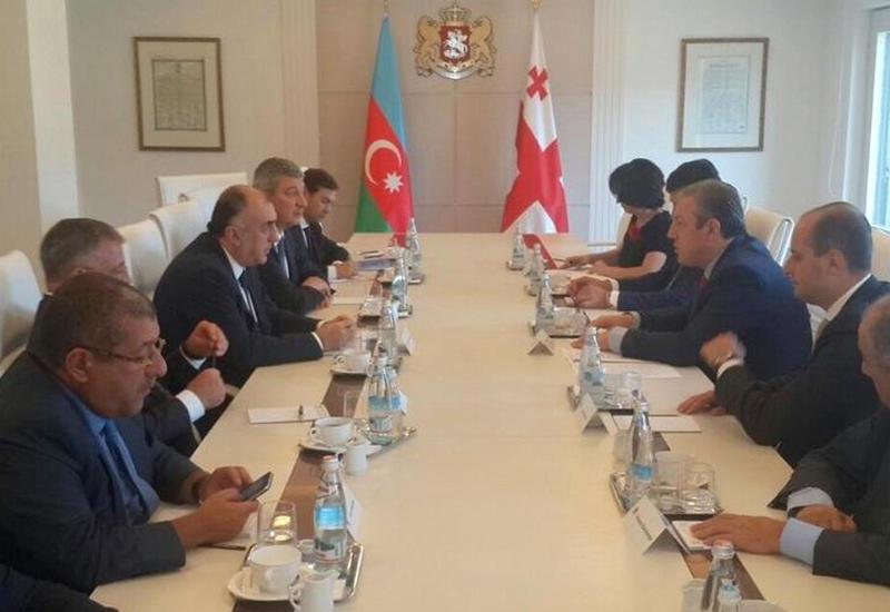 Глава МИД Азербайджана на встрече с грузинским коллегой