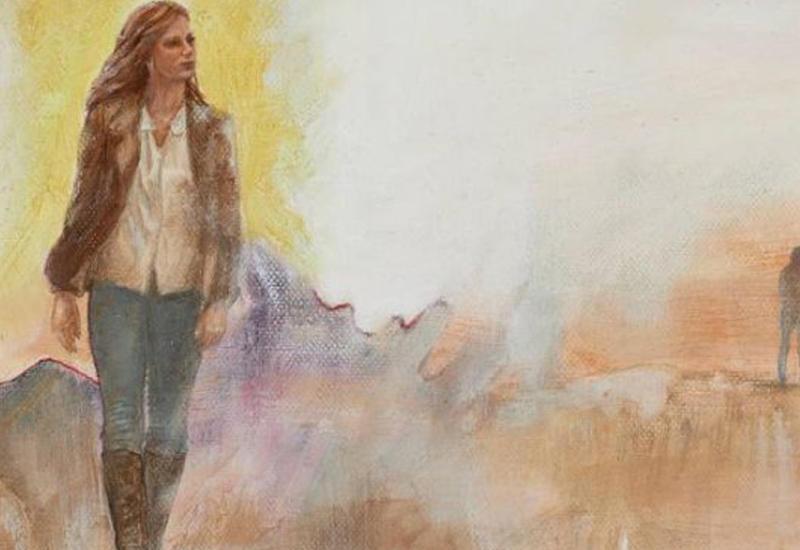 """""""Картинная галерея"""" Day.Az: Фигуры людей на фоне пейзажей <span class=""""color_red"""">- ФОТО</span>"""